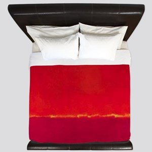 ROTHKO RED PINK YELLOW King Duvet