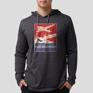 New York Airport Long Sleeve T-Shirt