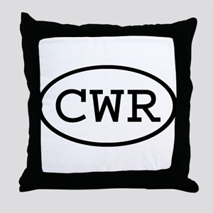 CWR Oval Throw Pillow