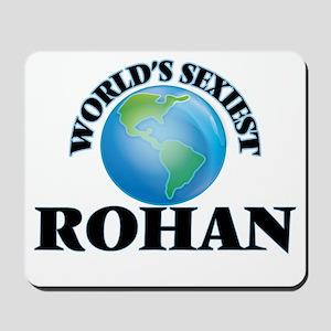 World's Sexiest Rohan Mousepad