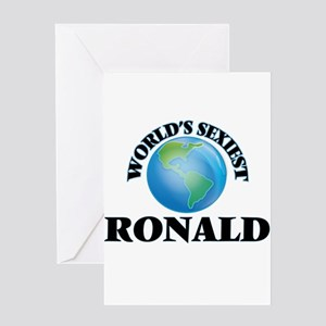 World's Sexiest Ronald Greeting Cards