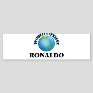 World's Sexiest Ronaldo Bumper Sticker
