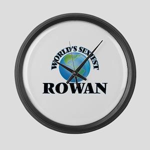 World's Sexiest Rowan Large Wall Clock