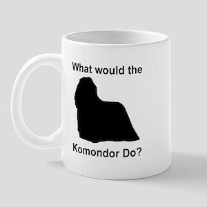 What would the Komondor do Mug