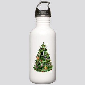 Cats in Tree Stainless Water Bottle 1.0L