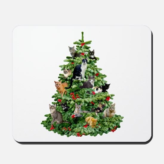 Cats in Tree Mousepad