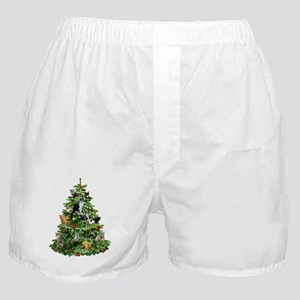 Cats in Tree Boxer Shorts