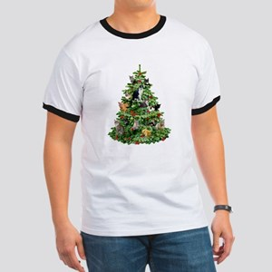 Cats in Tree Ringer T