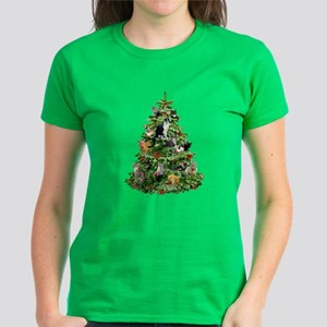Cats in Tree Women's Dark T-Shirt