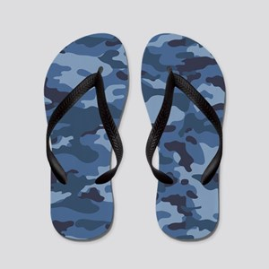 28fce96d6002 Camouflage Flip Flops - CafePress