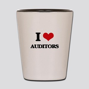 I love Auditors Shot Glass