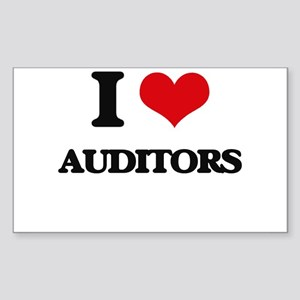 I love Auditors Sticker