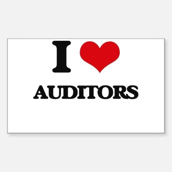 I love Auditors Decal
