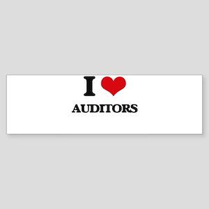 I love Auditors Bumper Sticker