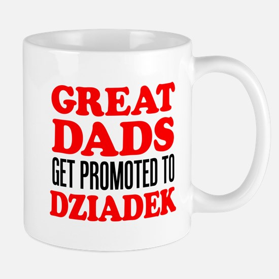 Promoted To Dziadek Drinkware Mugs