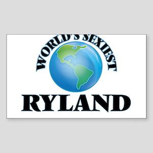 World's Sexiest Ryland Sticker