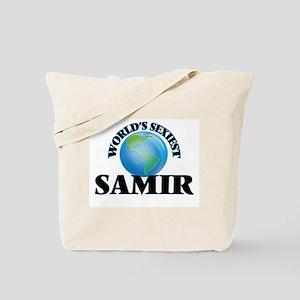 World's Sexiest Samir Tote Bag