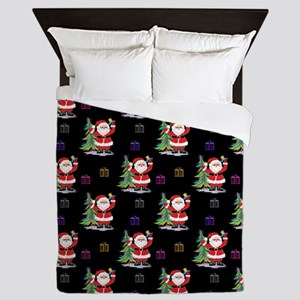 Santa Clause Christmas Queen Duvet