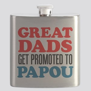 Dads Promoted To Papou Flask