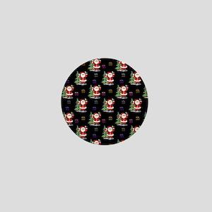 Santa Clause Christmas Mini Button