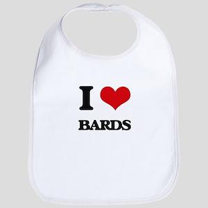 I love Bards Bib