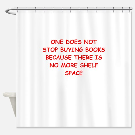 read Shower Curtain