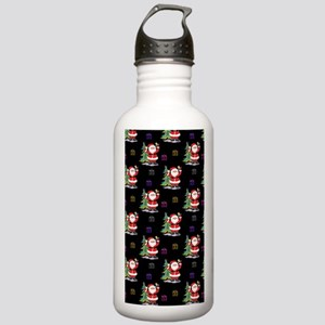 Santa Clause Christmas Stainless Water Bottle 1.0L