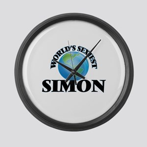 World's Sexiest Simon Large Wall Clock