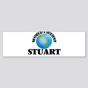 World's Sexiest Stuart Bumper Sticker