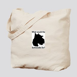What would the Schnoodle do Tote Bag