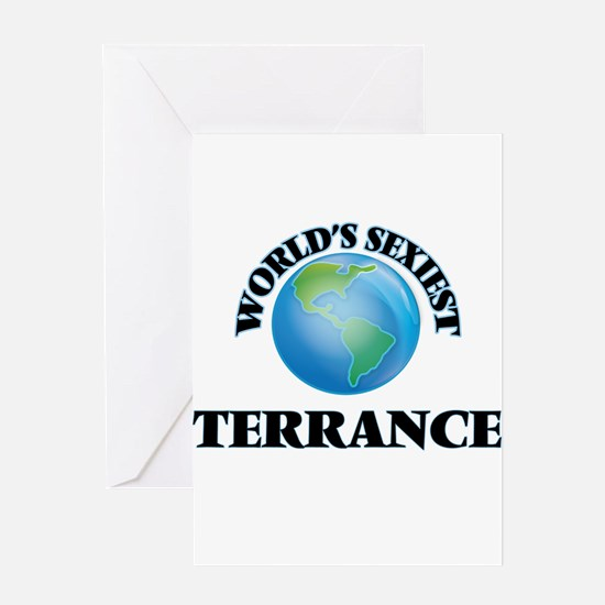 World's Sexiest Terrance Greeting Cards