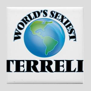 World's Sexiest Terrell Tile Coaster
