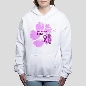 Awareness Fibroid Women's Hooded Sweatshirt