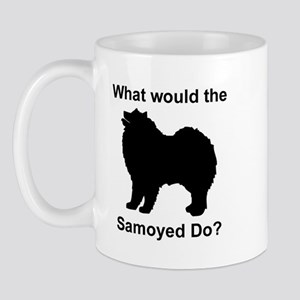What would the Samoyed do Mug