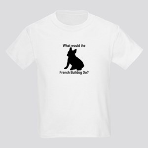 What would the French Bulldog Kids Light T-Shirt