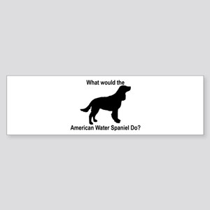 What would the American Water Bumper Sticker
