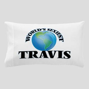 World's Sexiest Travis Pillow Case