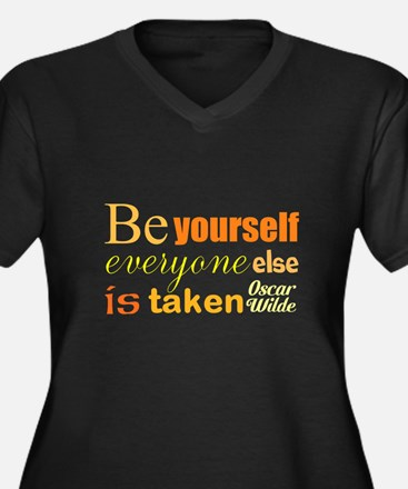 Be Yourself Plus Size T-Shirt