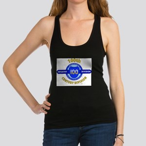 100th Infantry Division Century Racerback Tank Top