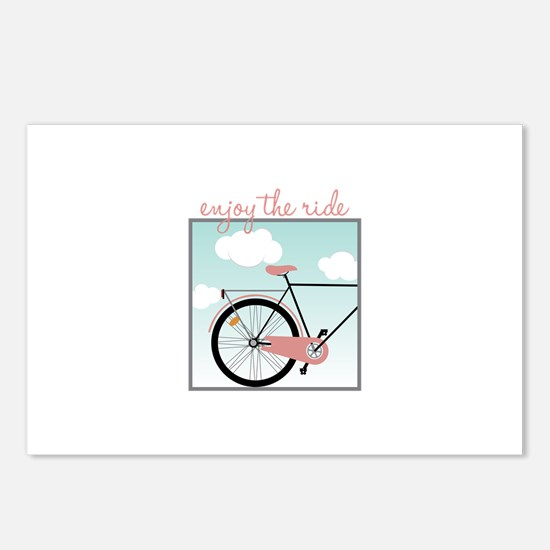 Enjoy The Ride Postcards (Package of 8)