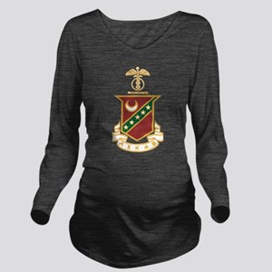 Kappa Sigma Crest Long Sleeve Maternity T-Shirt