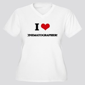 I love Cinematographers Plus Size T-Shirt