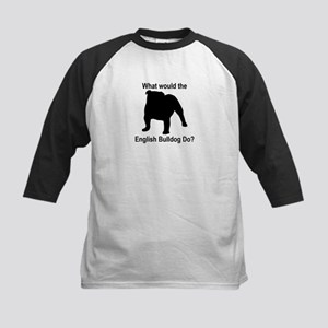 What would the English Bulldo Kids Baseball Jersey
