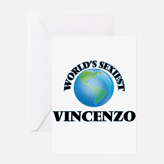 World's Sexiest Vincenzo Greeting Cards