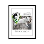 WMC Balance Front Framed Panel Print