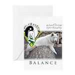 WMC Balance Front Greeting Cards