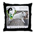 WMC Balance Front Throw Pillow
