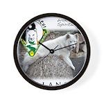 WMC Balance Front Wall Clock