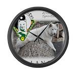 WMC Balance Front Large Wall Clock