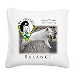 WMC Balance Front Square Canvas Pillow